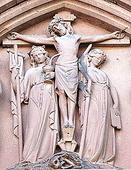 Notre-Dame des Douleurs, Marienthal, Alsace.