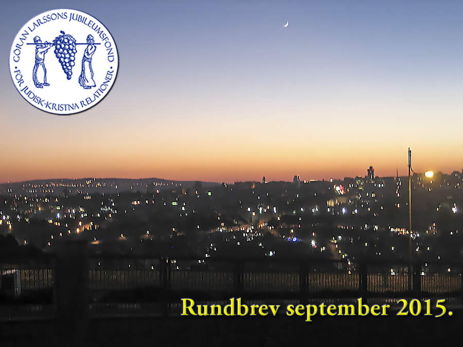 Rundbrev september 2015